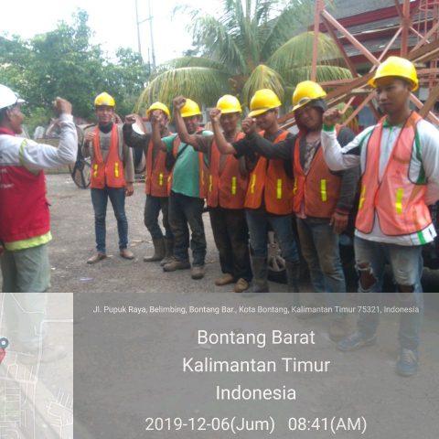 STTF 2019 Fiber Optik Telkom Project @Bontang, Samarinda, Kalimantan Timur