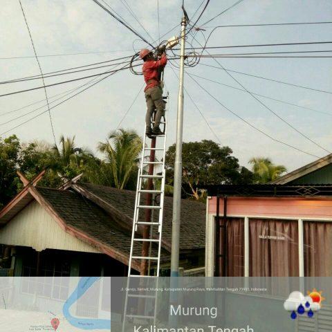 STTF 2019 Fiber Optik Telkom Project @Puruk Cahu, Murung, Kalimantan Tengah